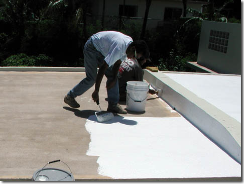 Roof Coating By Foster S Roofing Enterprises Inc